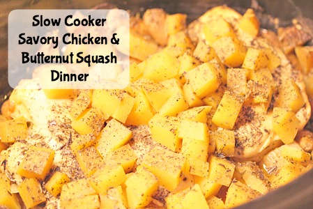 Chicken and Butternut Squash Dinner