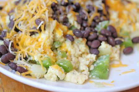 mexican breakfast scramble