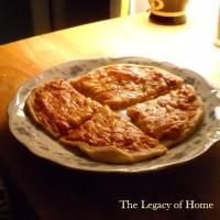 Homemade Frozen Pizzas