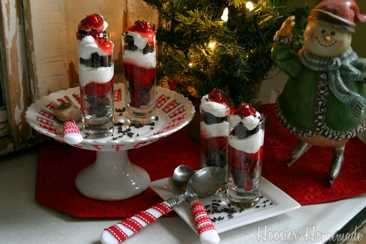 Black Forest Mini Trifles