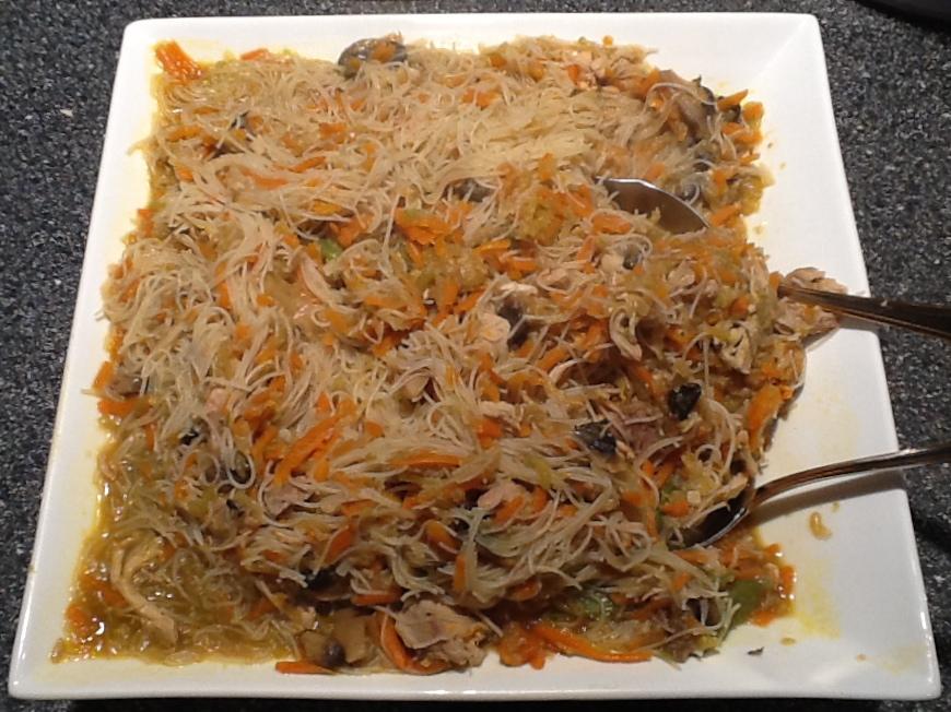 Filipino Style Rice Noodle Dish Recipe