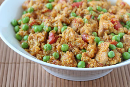 curried-quinoa-chicken-peas