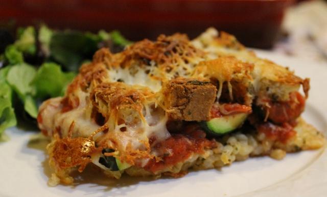 Baked Zucchini Parmesan Recipe (640x387)
