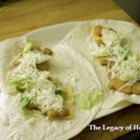 Chicken Ranch Wraps | 5DollarDinners.com
