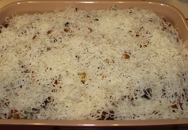 Parmesan cheese is optional in Baked Zucchini Parmesan (640x441)
