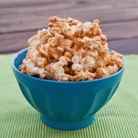 peanut butter and honey popcorn