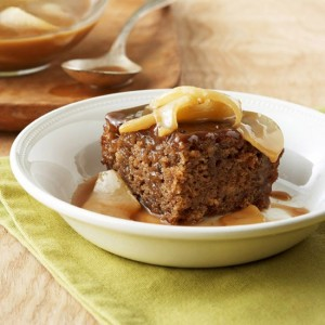 toffee pear sticky pudding