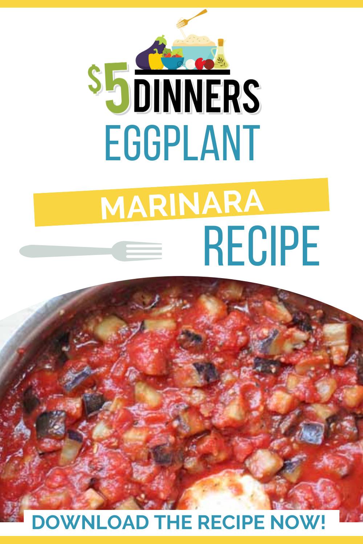 eggplant marinara sauce