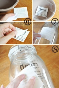 homemade canisters