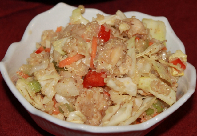 Fast and Easy Asian Chicken Salad recipe  (640x442)