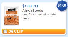 alexia sweet potato foods printable coupon Alexia Sweet Potato + Last Chance April Printable Coupons
