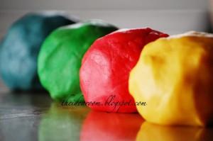 Play Dough Lollipop Cookies