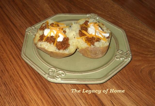 Baked Potato Tacos