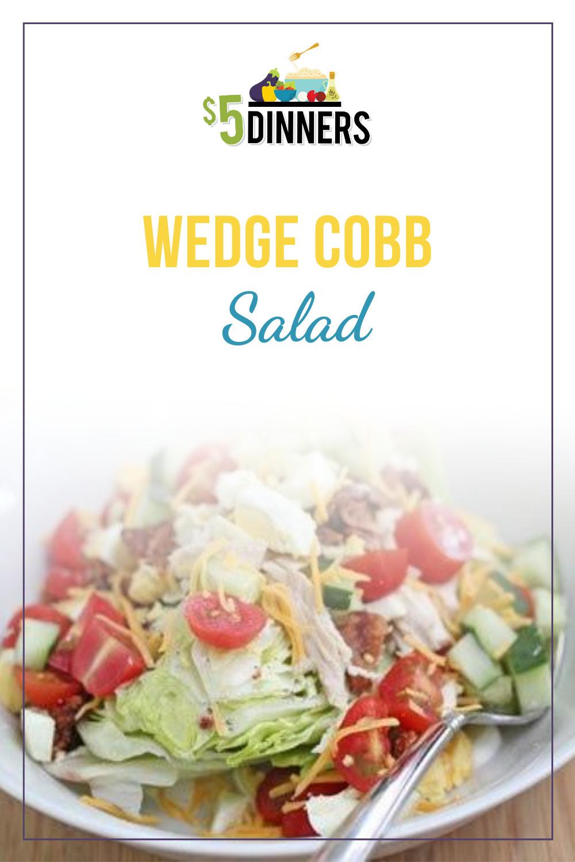 wedge cobb salad