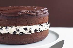 chocolate chip oreo cookie cake