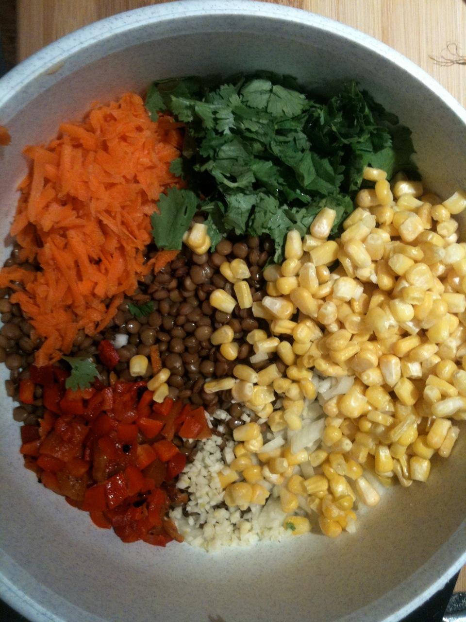 lentil salad 3 image