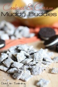 cookies & cream muddy buddies