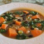 Asian Sweet Potato and Rice Soup Recipe