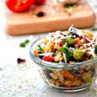 coconut quinoa salad