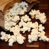 Gourmet Homemade Microwave Popcorn