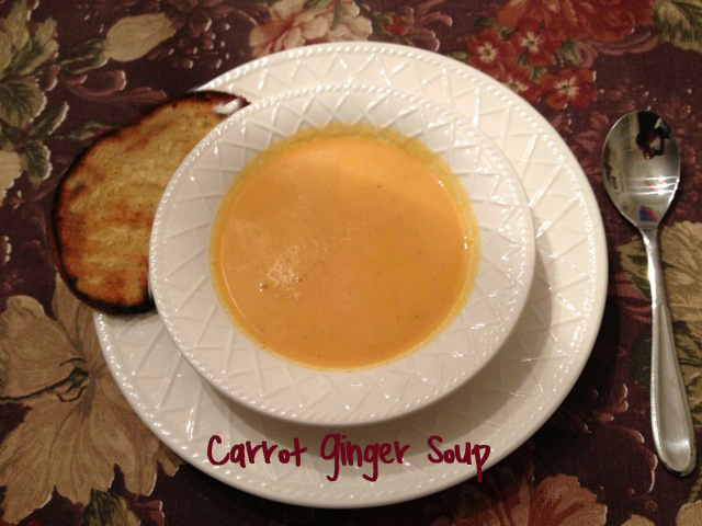 Carrot Ginger Soup Recipe