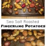 Sea Salt Roasted Fingerling Potatoes | 5DollarDinners.com