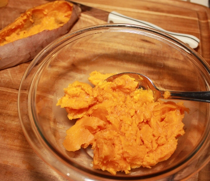 Stuffed Sweet Potatoes Made in the Slow Cooker