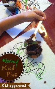 wormy mud pies
