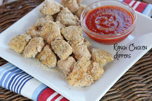 Ranch Chicken Dippers