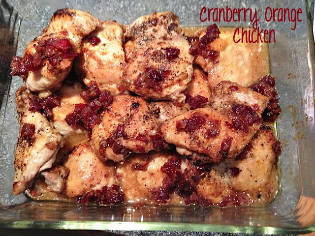 Cranberry Orange Chicken