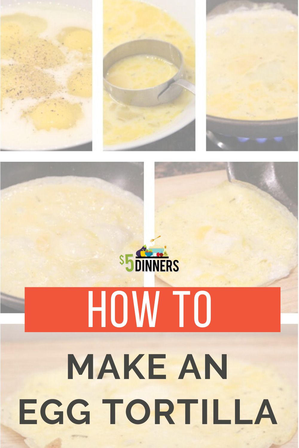 how to make an egg tortilla