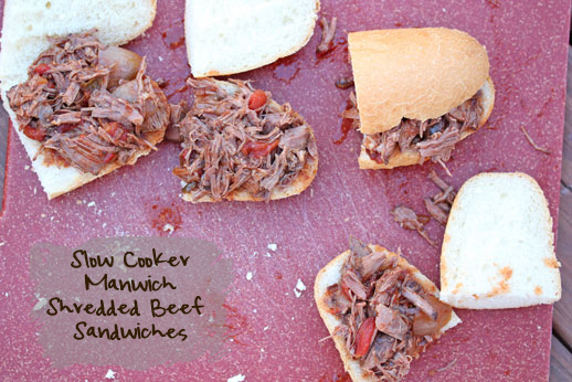 Shredded Manwich Beef Roast