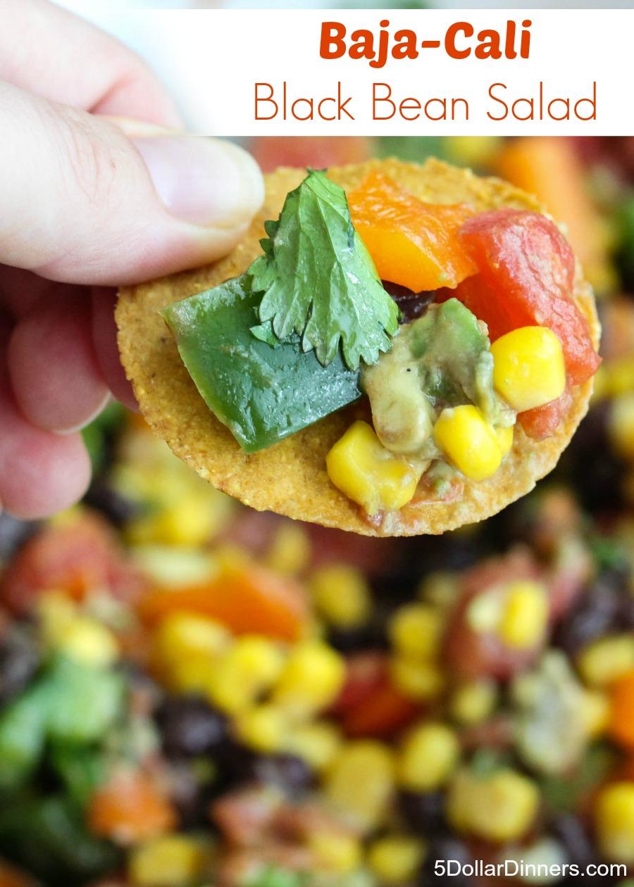 Baja Cali Black Bean Salad | 5DollarDinners.com