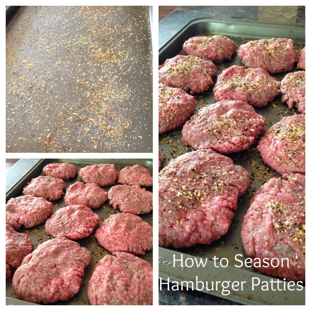 How to Season Hamburgers