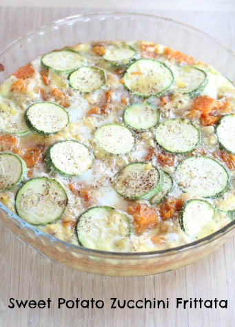 Sweet Potato Zuchhini Frittata Sweet Potato Zucchini Frittata