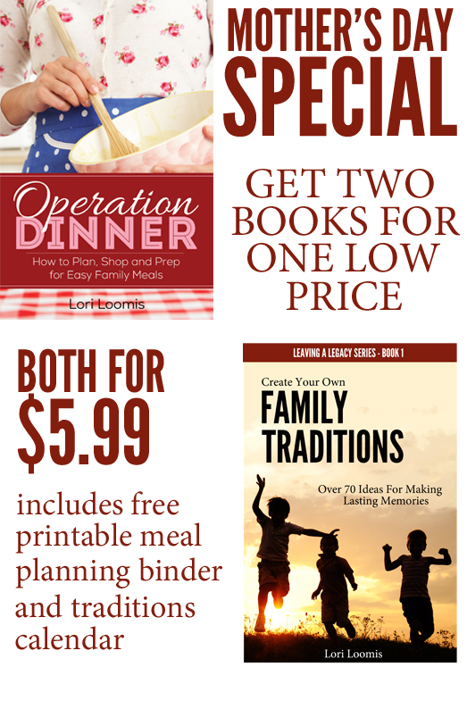 operation dinner mothers day special
