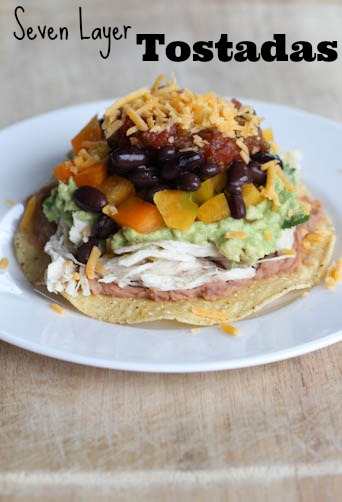 7 Layer Tostadas