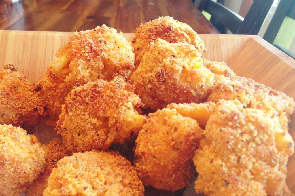 baked mac and cheese balls recipe