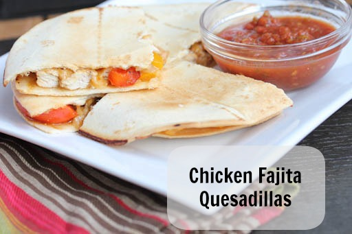 Chicken Fajita Quesdaillas1 Chicken Fajita Quesadillas