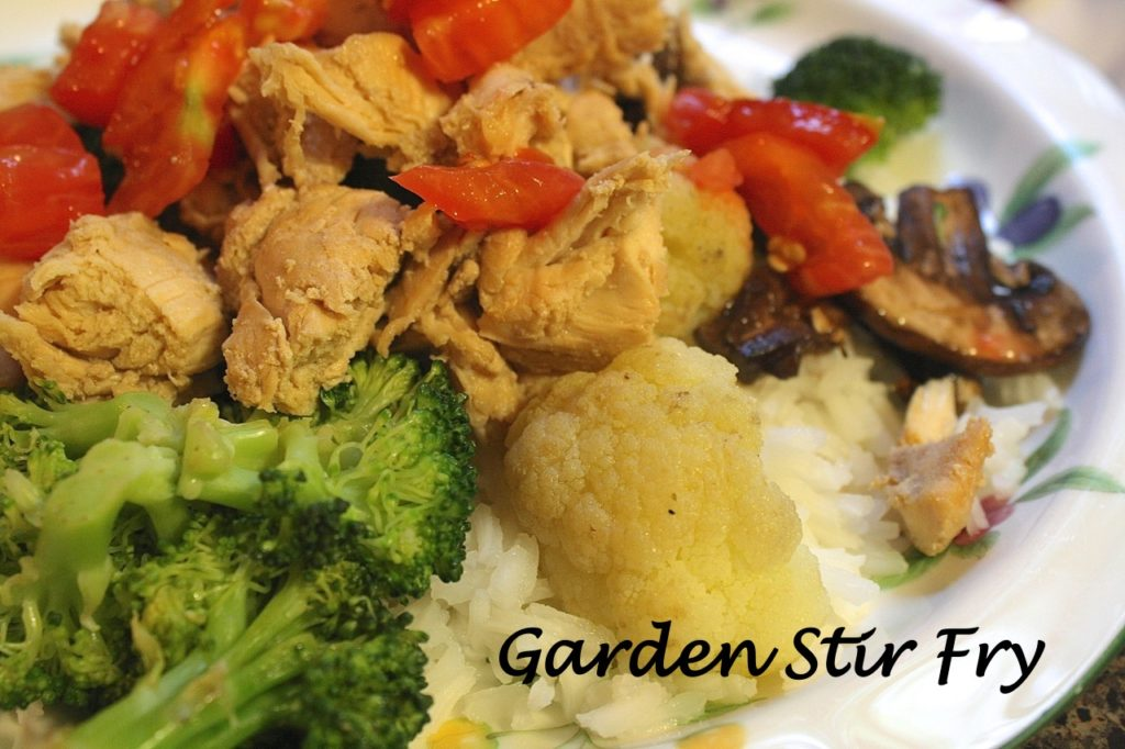 Garden Stir Fry #Recipe at www.5dollardinners.com