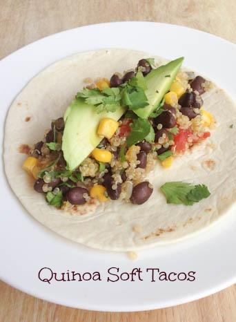 Quinoa Soft Tacos A Quinoa Soft Tacos