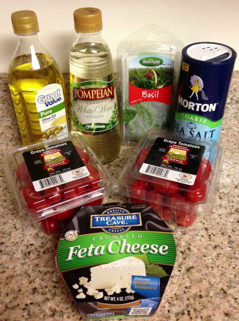 Denise's Tomato & Feta Salad