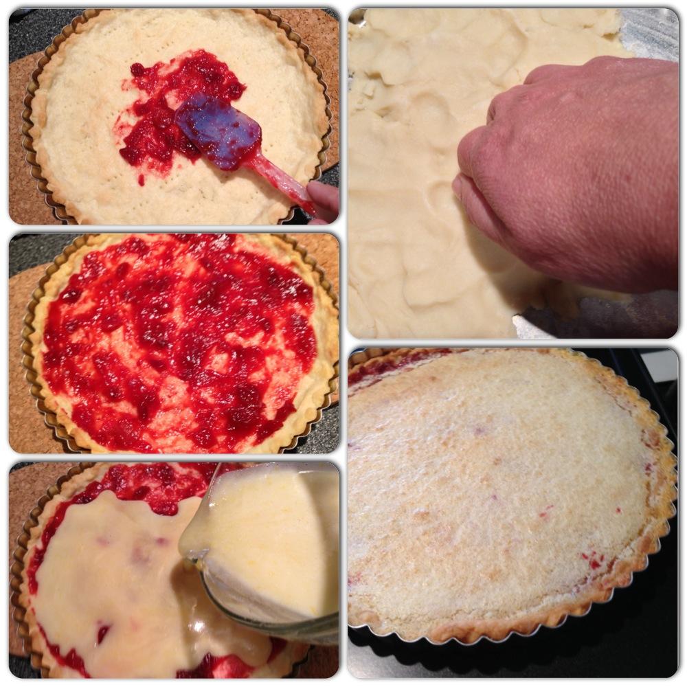 lemon cranberry tart 2