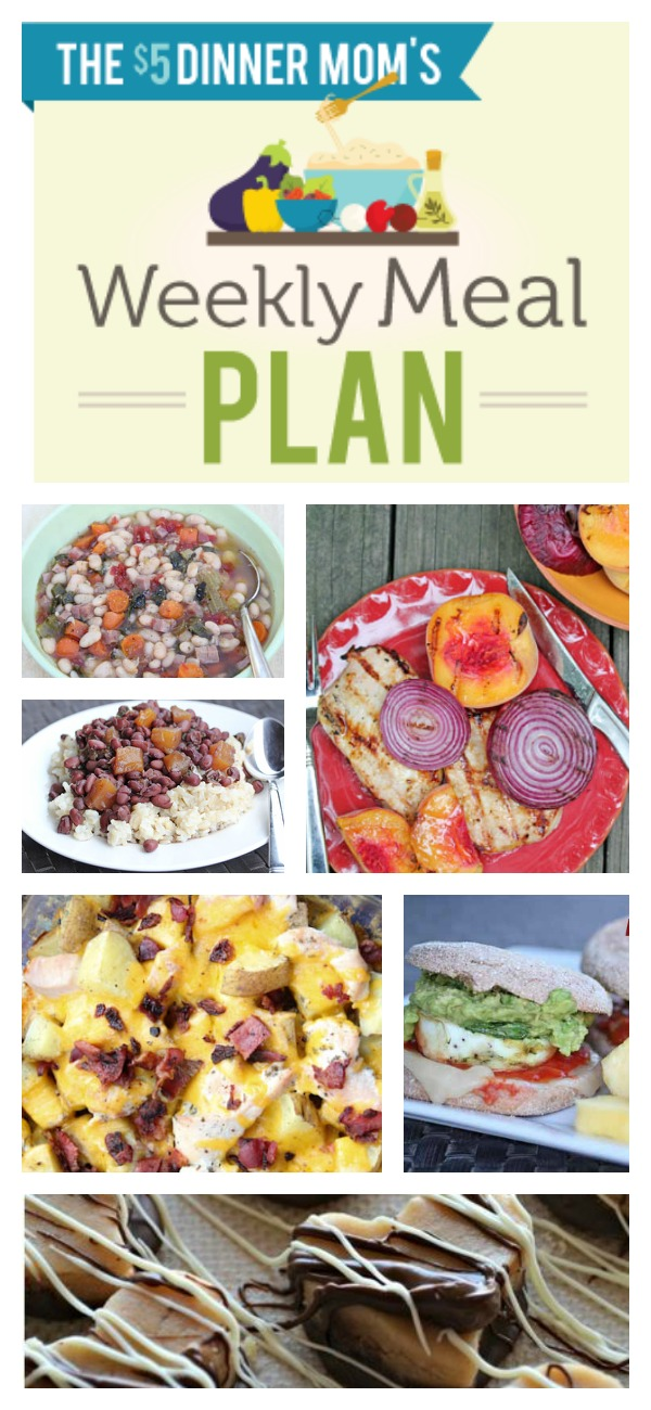 Free Weekly Meal Plan with Printable List