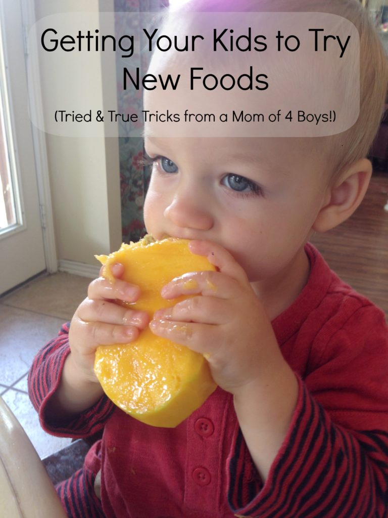 Kids Try New Foods