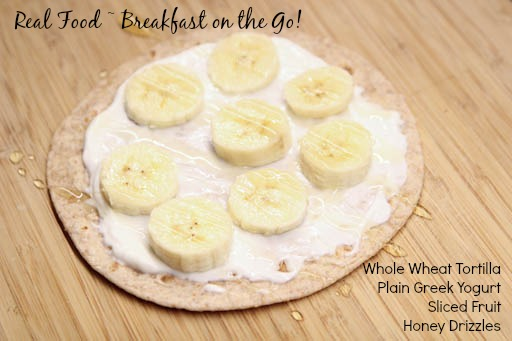 Real Food Breakfast on the Go Ideas