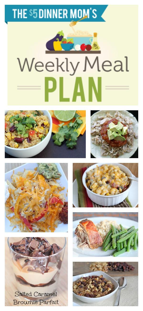 Free Weekly Meal Plan ~ week of April 7