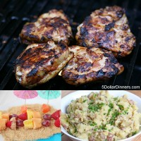Memorial Day Favorite Recipe Roundup | 5DollarDinners.com