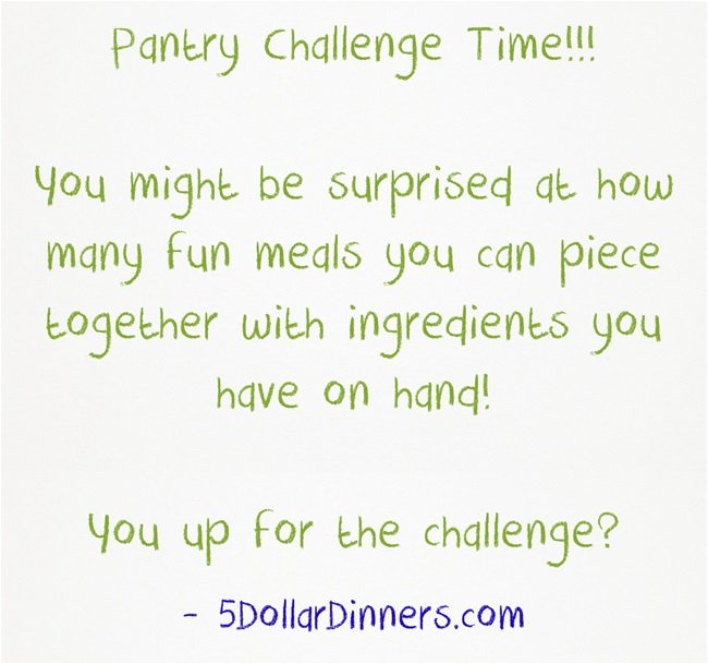 Pantry-Challenge
