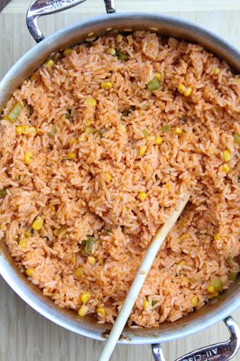 Tex Mex Restaurant Style Rice